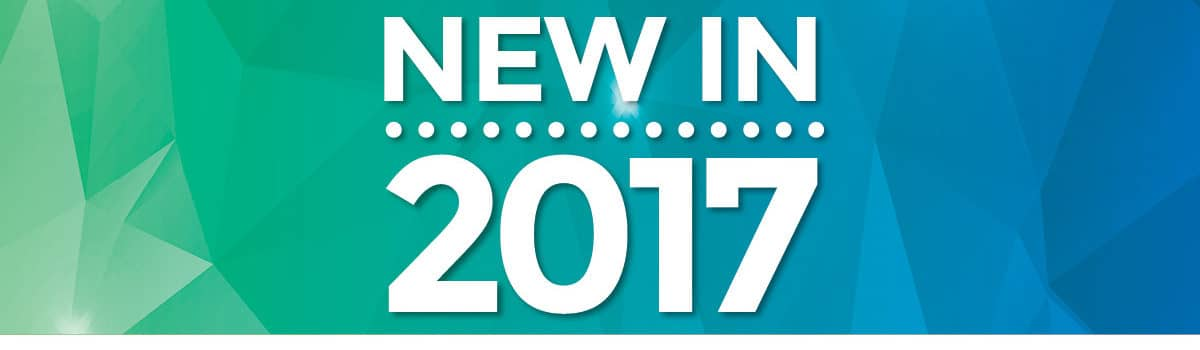 New In 2017 Several service providers are planning new products and strategies this year.