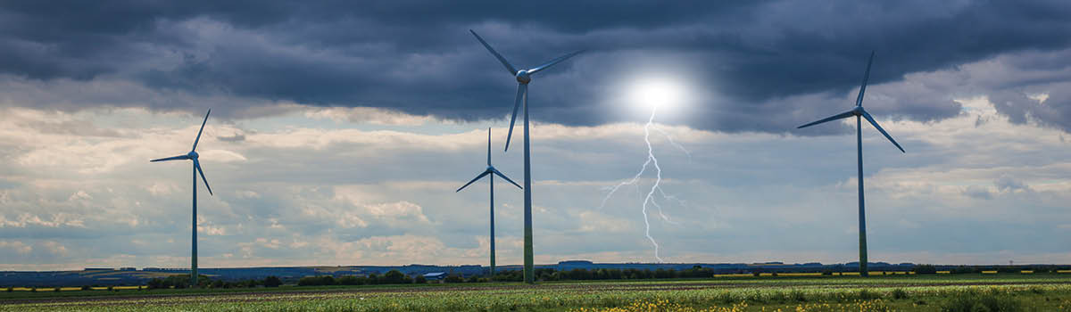Lighting Considerations During Wind Farm Development Guidelines from the Federal Aviation Administration give developers  clear direction for airspace hazard mitigation.